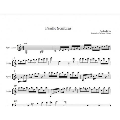 Sombras - sheet for guitar